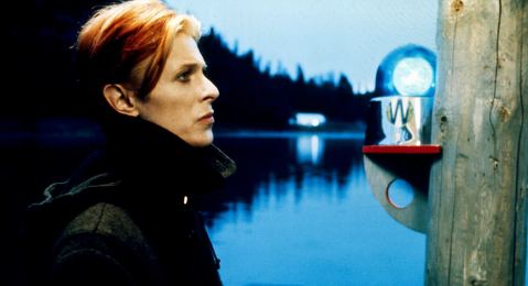 Still image from The Man Who Fell to Earth.