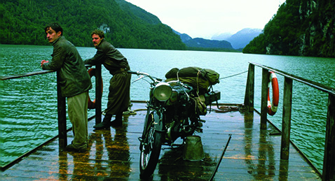 Still image from The Motorcycle Diaries.