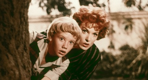 Still image from The Parent Trap.