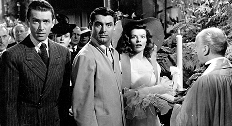 Still image from The Philadelphia Story.