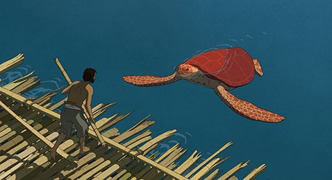 Still image from The Red Turtle.