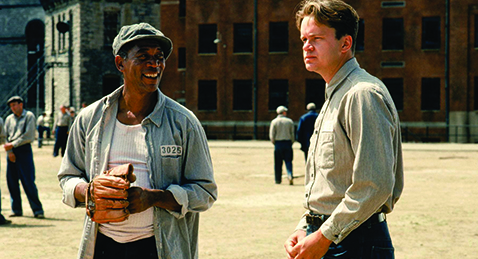Still image from The Shawshank Redemption.