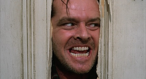 Still image from The Shining.