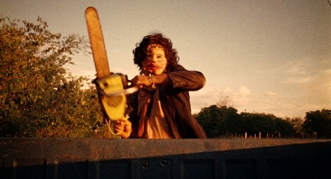 Still image from The Texas Chain Saw Massacre.