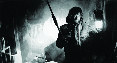 Still image from The Thing.