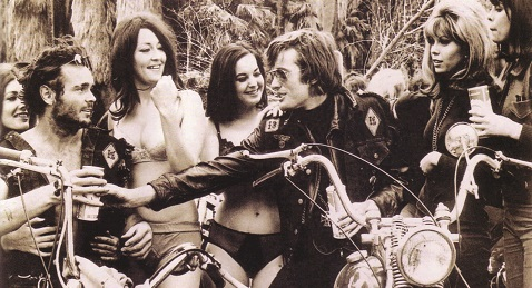 Still image from The Wild Angels.
