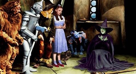 Still image from The Wizard of Oz.