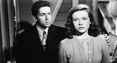 Still image from They Live by Night.