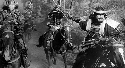 Still image from Throne of Blood.