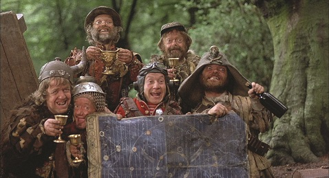 Still image from Time Bandits at Bryan Park.