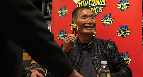 Still image from To Be Takei.