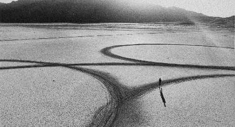 Still image from Troublemakers: the Story of Land Art.
