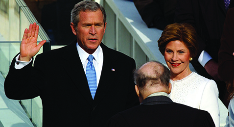 Still image from Unprecedented: The 2000 Presidential Election.