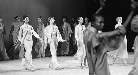 Still image from Versailles '73: American Runway Revolution.
