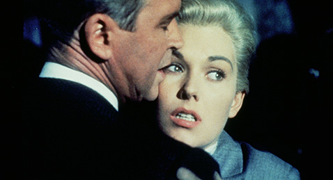 Still image from Vertigo.