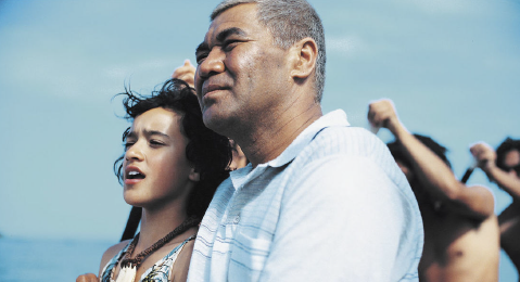 Still image from Whale Rider.
