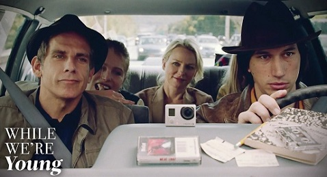 Still image from While We're Young.
