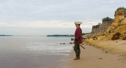 Still image from Zama.