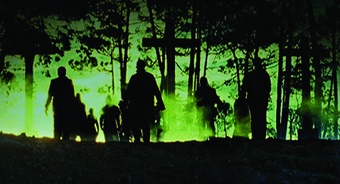 Still image from Zombie.